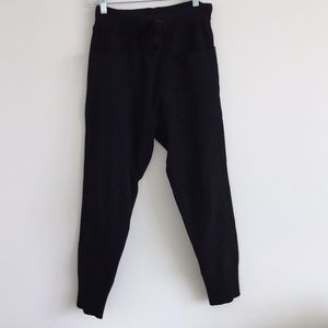 Zara knit drawstrings pants